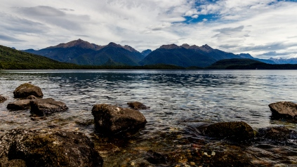 Frasers Beach in Manapouri