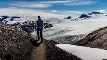 Harding Icefield Track