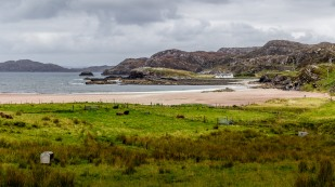 Clashnessie beach