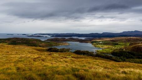Lochinver - Drumbeg road